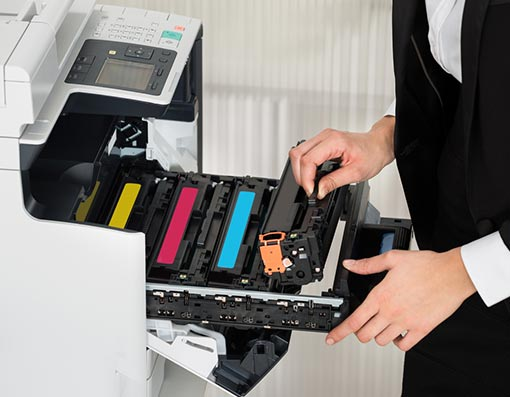accompagnement et dépannage d'imprimante